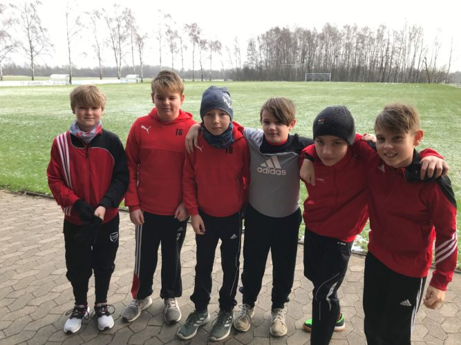 U12 - Trainingsauftakt